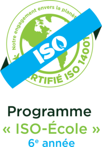 Logo certification Iso école