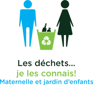 Deux bonhommes qui recyclent