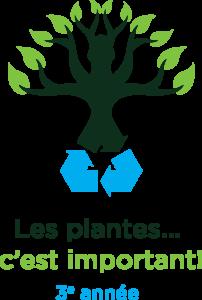 Un arbre avec le symbole de recyclage