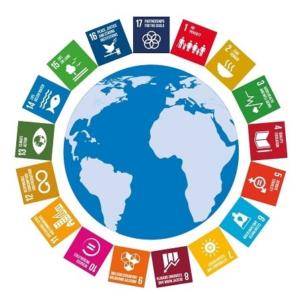 Les images représentant le développement durable et ses objectifs