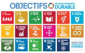 Description des programms de développement durable.